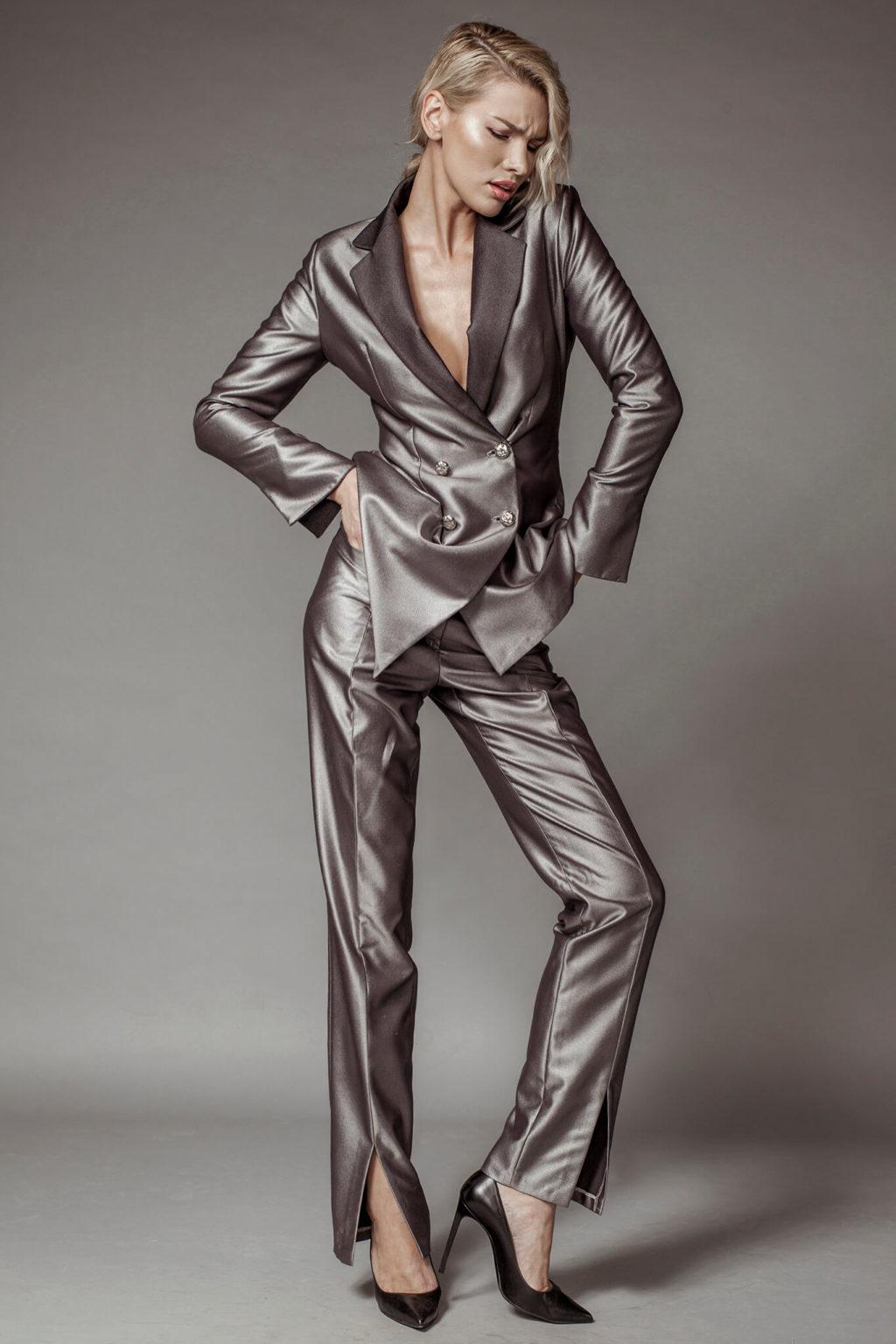Sacou si pantaloni dama brand romanesc