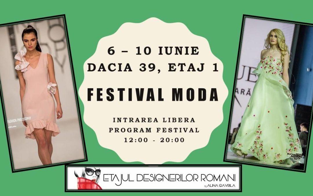 Festivalul de moda romaneasca marca Etajul Designerilor Romani